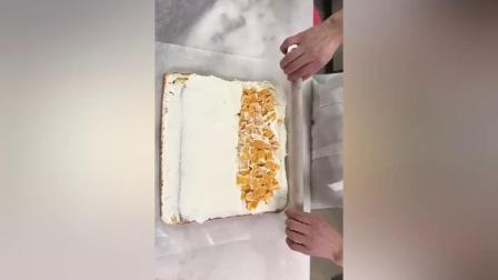 烘焙方形金色不沾牛轧糖烤盘 披萨蛋糕饼干雪花酥家用浮云卷模具