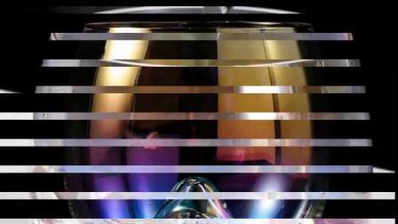 家用创意彩色玻璃杯子七彩虹富士山圆慕斯酸奶洋酒杯咖啡杯ins风