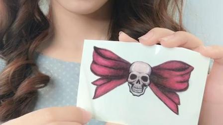 云皙花臂纹身贴防水男女持久仿真刺青性感小清新可爱网红图案10张