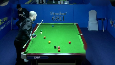王晓倩VS坎哈桑·詹萨尔(上)2019中式台球国际大师赛(黑龙江桦南站)
