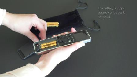 力纳克家庭系列——HC40 FRAME™ 手控器电池更换方法