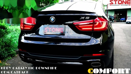 BMW F16 X6 35i x STONE EXHAUST