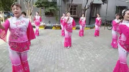 舞蹈【今天是你的生日】 表演: 沪太路1170弄居委会 和谐民族舞蹈队 制作:滕宝华