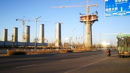 赤峰高铁线路建设中
