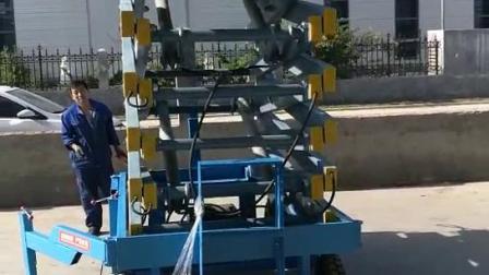 移动剪叉式升降机10米加辅助行走简易货物举升机电动液压升降平台