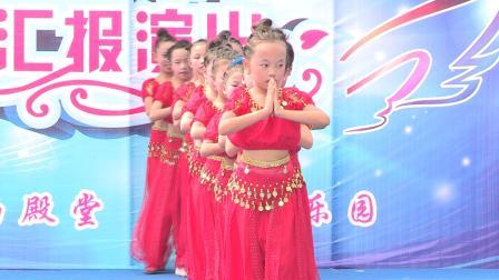 雅姿舞蹈小洋学员《印度舞》扭出了浓浓异域风情