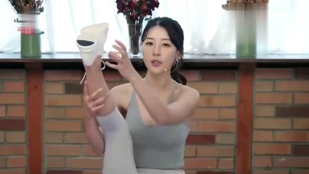 韩国瑜伽女高手,很高的高手黄雅英,亲身教授瑜伽技巧