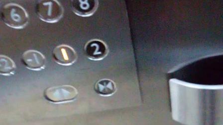 中医院住院部电梯上行