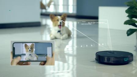能拖会扫还会视频监控扫地机器人一代目m6+