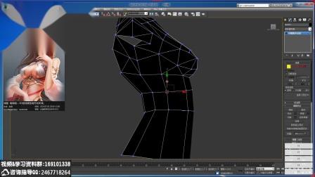 3D美少女人体裸模制作过程