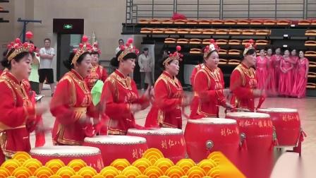 鼓动新时代 刘仁八镇威风锣鼓 2019年大冶市资源规划杯健身舞系列展演赛