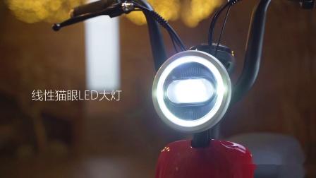 新日XC1电动车广告