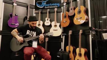 Scott Bravo playing the RT660 carbon fiber travel guitar - Instrumental