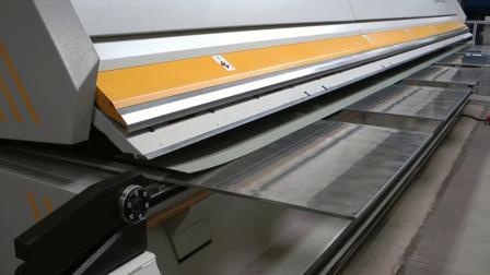 金属围护系统折边件全自动折弯设备-德国RAS XXL-Center