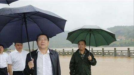 衡东县特大洪水百年一遇。