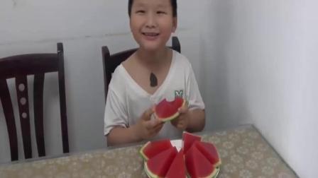5 这才是西瓜果冻正确的做法,不用吉利丁粉,香甜q弹,孩子超喜欢7.9
