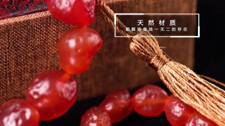 千蕊 天然原石红玛瑙手链 阿拉善手串 戈壁玛瑙籽玛瑙 男女款实物