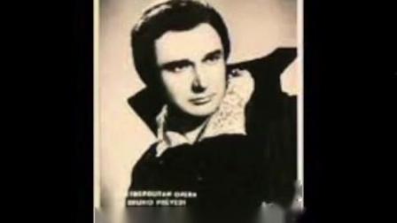 "意大利男高音Bruno Prevedi; ""Recondita armonia""; Tosca; Giacomo Puccini"