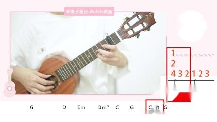 终身美丽-郑秀文 尤克里里弹唱教学