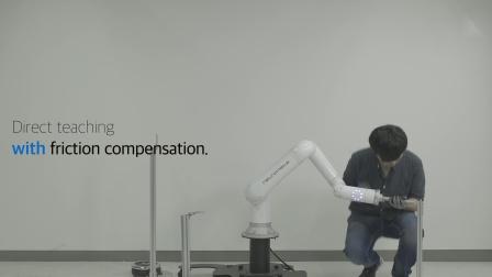 Indy7 协作机器人新功能—摩擦补偿_纽路麦卡(Neuromeka)