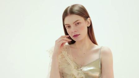 925纯银项链女潮网红爱心形珍珠高级感小众y字型链子配饰挂件饰品