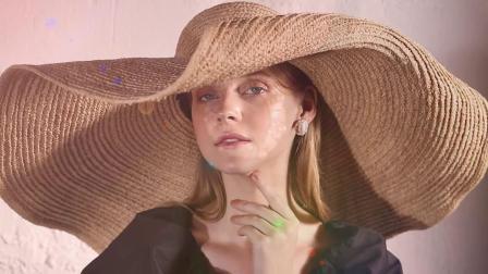 925纯银巴洛克大珍珠高级感法式耳环夏季时尚气质复古女士耳钉潮