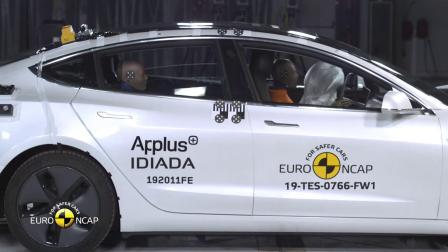 2019 - Euro NCAP Crash Test of Tesla model 3