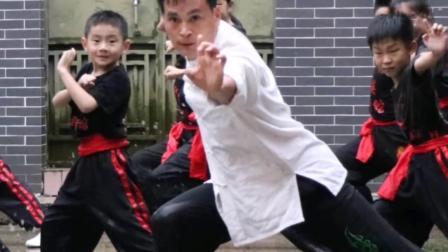 广州市非遗洪拳纪录片拍摄现场