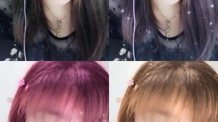 桃花染哪个颜色好看,准备夏天过去了就去染头发