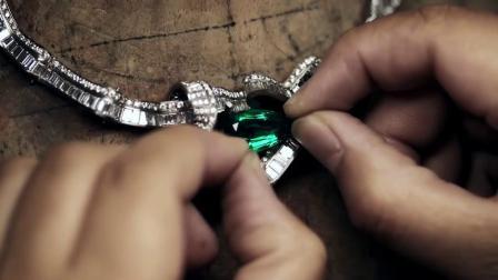 灵妙珠宝斯里兰卡蓝宝石男戒18k金镶嵌彩色宝石蓝宝石男款戒指