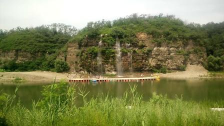 辽阳太子岛瀑布201907101