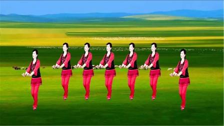 苏北君子兰广场舞--383--新阿尔斯楞的眼睛