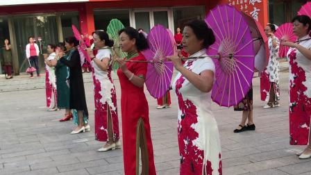 涞源县旗袍女子健身舞蹈队阵容