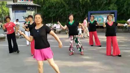 健身缘分广场舞-红尘花一朵