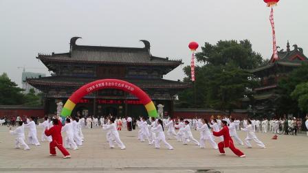 2019年辽阳全民健身启动仪式【文圣区庆阳42拳】