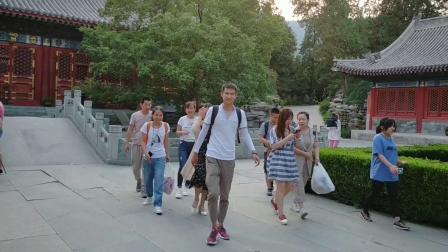 去香山公园登山