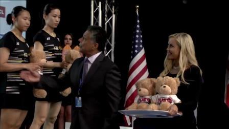 2019美国羽毛球公开赛女双决赛集锦
