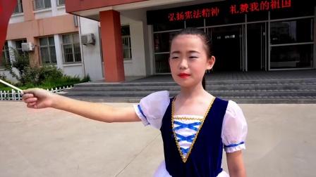 """齐河县第五小学""""和美五小  礼赞祖国""""——庆祝新中国成立七十周年快闪活动"""