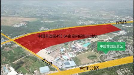 合肥丰县岗集镇中国非遗园495.64亩定向招拍挂地块航拍视频