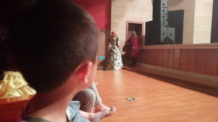 小橘子看灰姑娘舞台剧