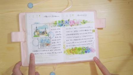 2019年hobo手帐4月5月翻翻看  手帐排版