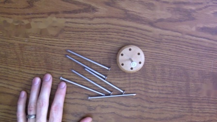 On the Head of a Nail! Balancing Act Puzzle