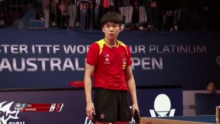 Xu Xin vs Wang Chuqin  2019 ITTF Australian Open Highlights (Final)