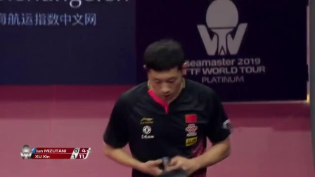 Jun Mizutani vs Xu Xin  2019 ITTF China Open Highlights (R16)