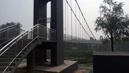 徒骇河悬索景观桥