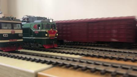 火车模型 百万城4B跑车