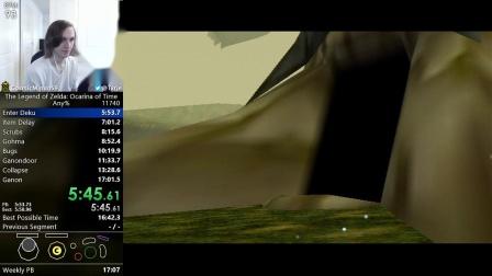 【游民星空】《塞尔达传说:时之笛》速通记录