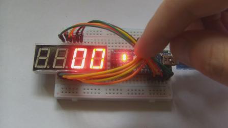 玩转Arduino图形化编程基础版51-倒计时(递减法)
