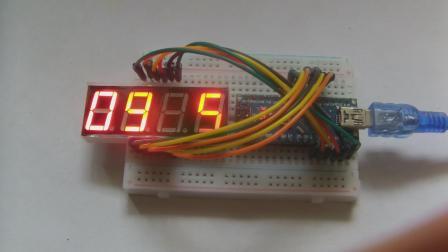 玩转Arduino图形化编程基础版52-倒计时2(算数法)