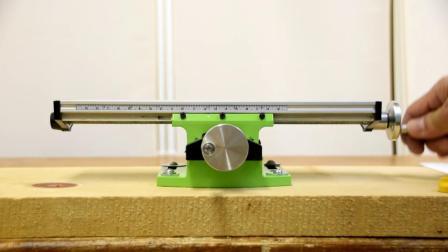 使钻架成为方榫机ドリルスタンドを角ノミ機に! 驚きのマイクロクロステーブル【DIY】MiniQ Compound Table Unboxing and test